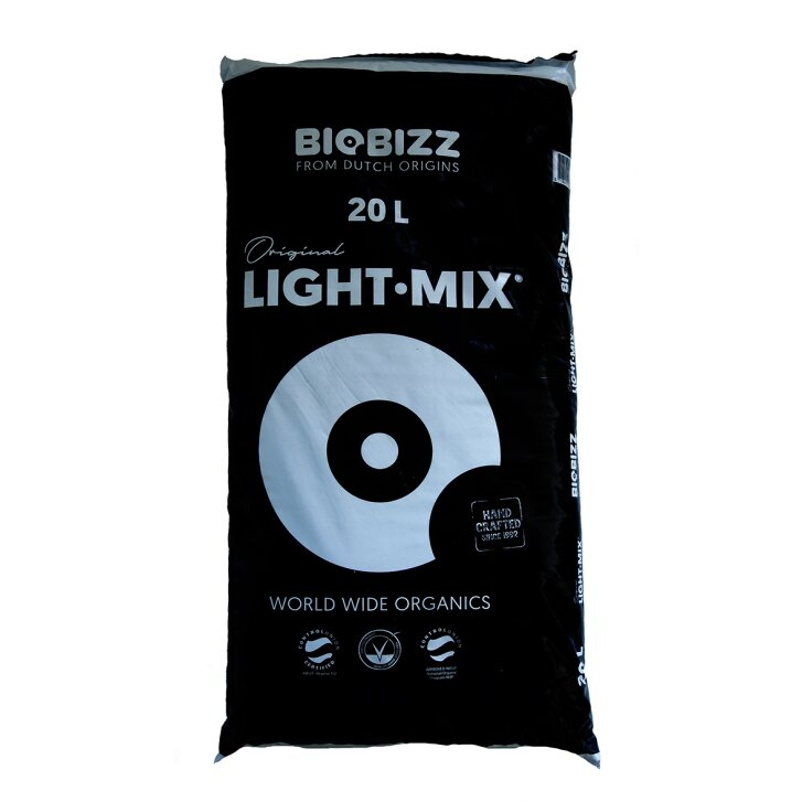Biobizz Light Mix 20 L, Basic substrate for seedlings and young plants